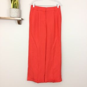 J. Crew Collection Hutton Trouser Raw Silk Pants 4